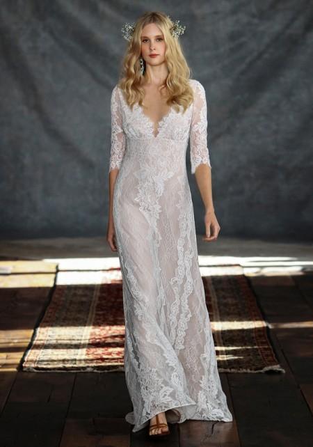 Patchouli Wedding Dress - Claire Pettibone Romantique 2015 Bridal Collection