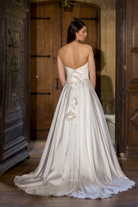 Back of Penny Wedding Dress - Augusta Jones The Hallmark 2015 Bridal Collection