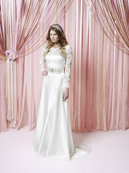 Petal Wedding Dress - Charlotte Balbier Iscoyd Park 2015 Bridal Collection