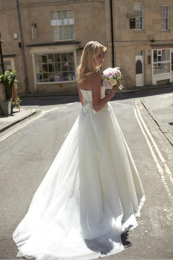 Back of Petula Wedding Dress - So Sassi 2015 Bridal Collection