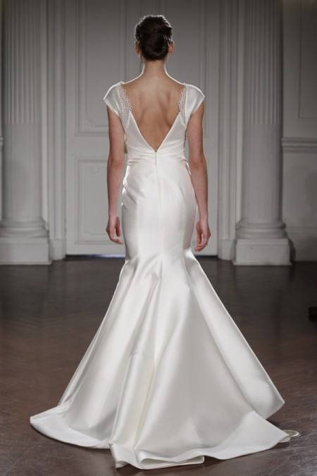 Back of Poppins Wedding Dress - Peter Langner 2015 Bridal Collection
