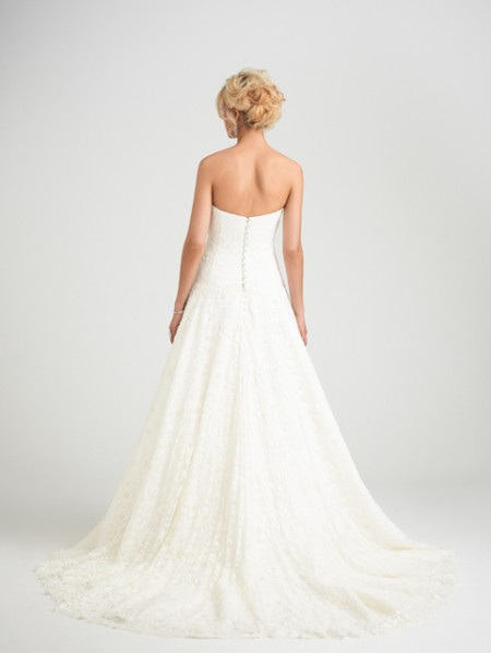 Back of Prima Donna Wedding Dress - Caroline Castigliano Opera 2015 Bridal Collection