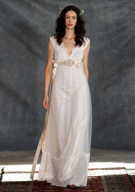 Queen Annes Lace Wedding Dress - Claire Pettibone Romantique 2015 Bridal Collection