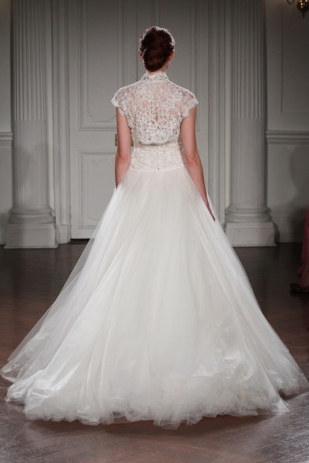 Back of Rania Wedding Dress - Peter Langner 2015 Bridal Collection