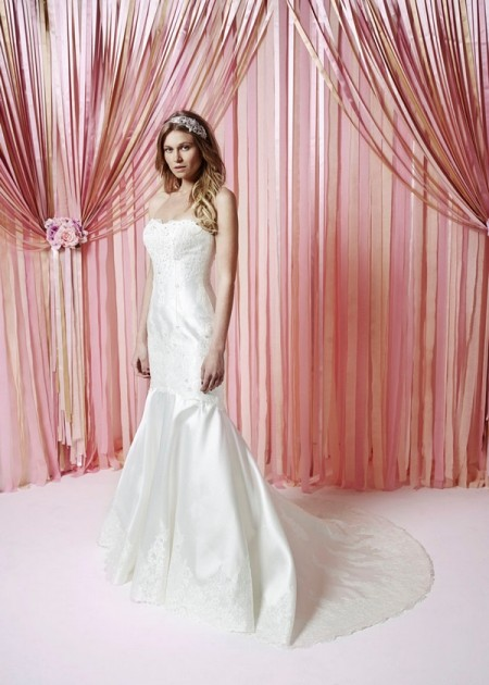 Rebecca Wedding Dress - Charlotte Balbier Iscoyd Park 2015 Bridal Collection