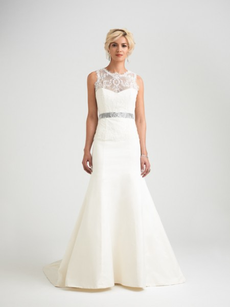 Romelli Wedding Dress with Hollie Shrug - Caroline Castigliano Opera 2015 Bridal Collection