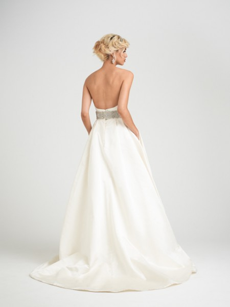 Back of Rosabella Wedding Dress - Caroline Castigliano Opera 2015 Bridal Collection