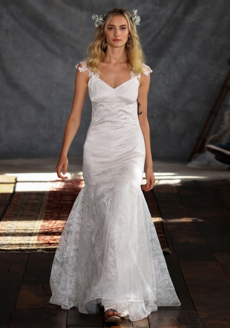 Rosemary Wedding Dress - Claire Pettibone Romantique 2015 Bridal Collection