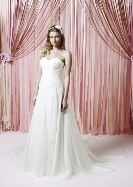 Rosetta Wedding Dress - Charlotte Balbier Iscoyd Park 2015 Bridal Collection