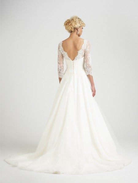 Back of Rossini Wedding Dress - Caroline Castigliano Opera 2015 Bridal Collection