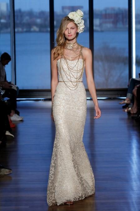 Sahara Wedding Dress - Ines Di Santo Spring/Summer 2015 Bridal Collection