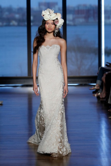Samaly Wedding Dress - Ines Di Santo Spring/Summer 2015 Bridal Collection
