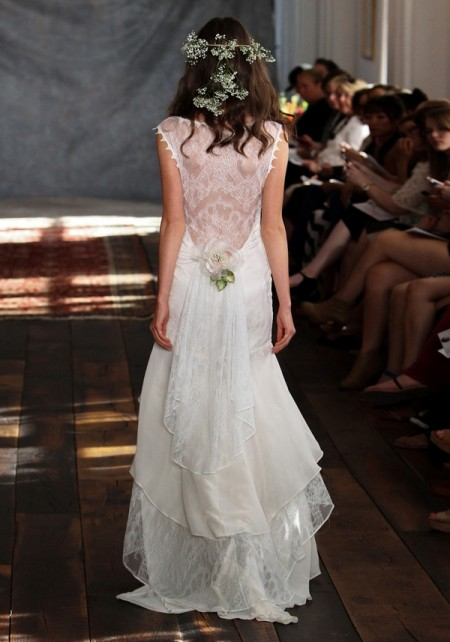 Back of Seraphina Wedding Dress - Claire Pettibone Romantique 2015 Bridal Collection