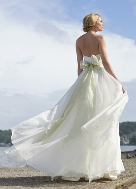 Back of Shelley Wedding Dress - Stephanie Allin Always and Forever 2015 Bridal Collection