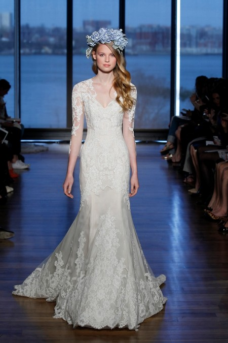 Silvine Wedding Dress - Ines Di Santo Spring/Summer 2015 Bridal Collection