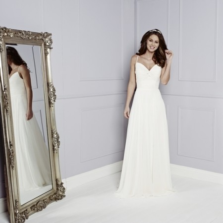 Skylark Wedding Dress - Amanda Wyatt Blue Iris 2015 Bridal Collection