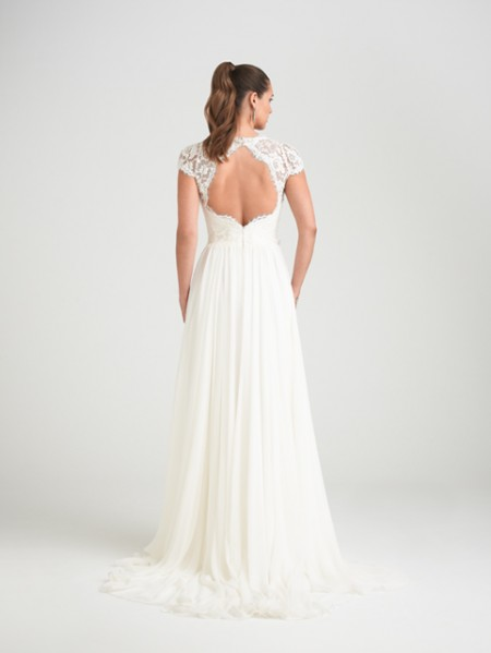 Back of Springtime Wedding Dress - Caroline Castigliano Opera 2015 Bridal Collection