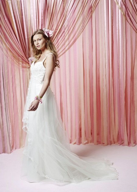 Stella Wedding Dress - Charlotte Balbier Iscoyd Park 2015 Bridal Collection