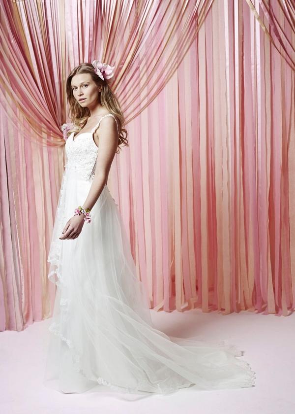 Stella Wedding Dress - Charlotte Balbier Iscoyd Park 2015 Bridal Collection