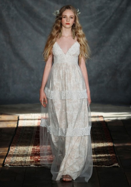 Thyme Wedding Dress - Claire Pettibone Romantique 2015 Bridal Collection