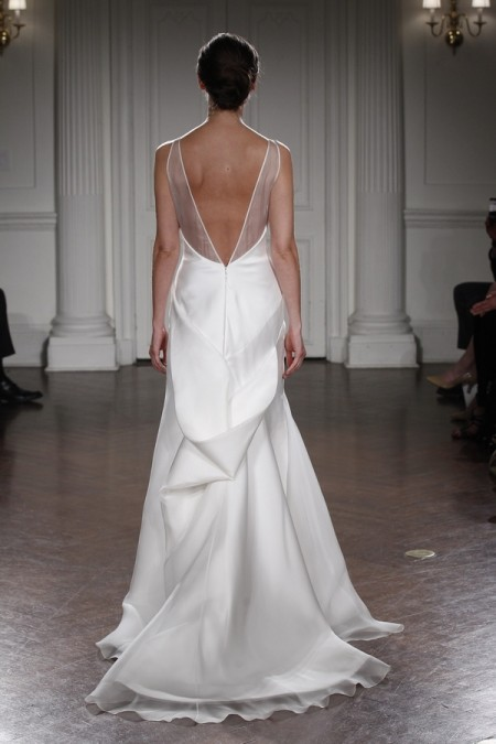 Back of Tilda Wedding Dress - Peter Langner 2015 Bridal Collection
