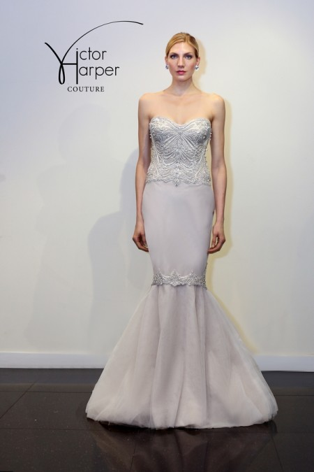 VHC286 Wedding Dress - Victor Harper Couture Spring 2015 Bridal Collection