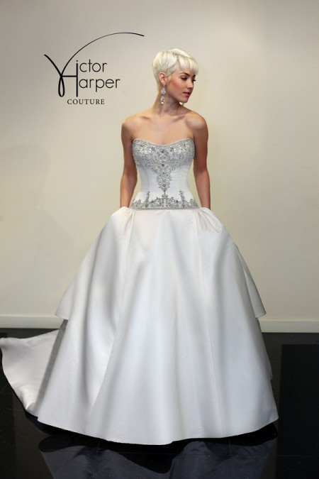 VHC287 Wedding Dress - Victor Harper Couture Spring 2015 Bridal Collection