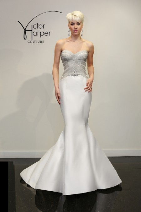 VHC289 Wedding Dress - Victor Harper Couture Spring 2015 Bridal Collection