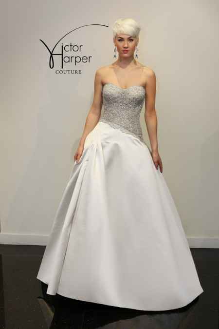VHC293 Wedding Dress - Victor Harper Couture Spring 2015 Bridal Collection