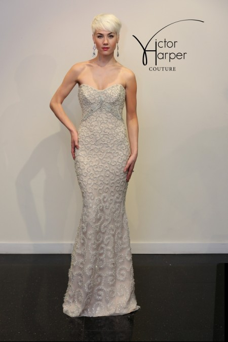 VHC295 Wedding Dress - Victor Harper Couture Spring 2015 Bridal Collection