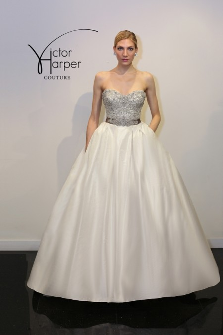 VHC296 Wedding Dress - Victor Harper Couture Spring 2015 Bridal Collection