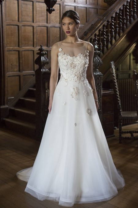Vicki Wedding Dress - Augusta Jones The Hallmark 2015 Bridal Collection
