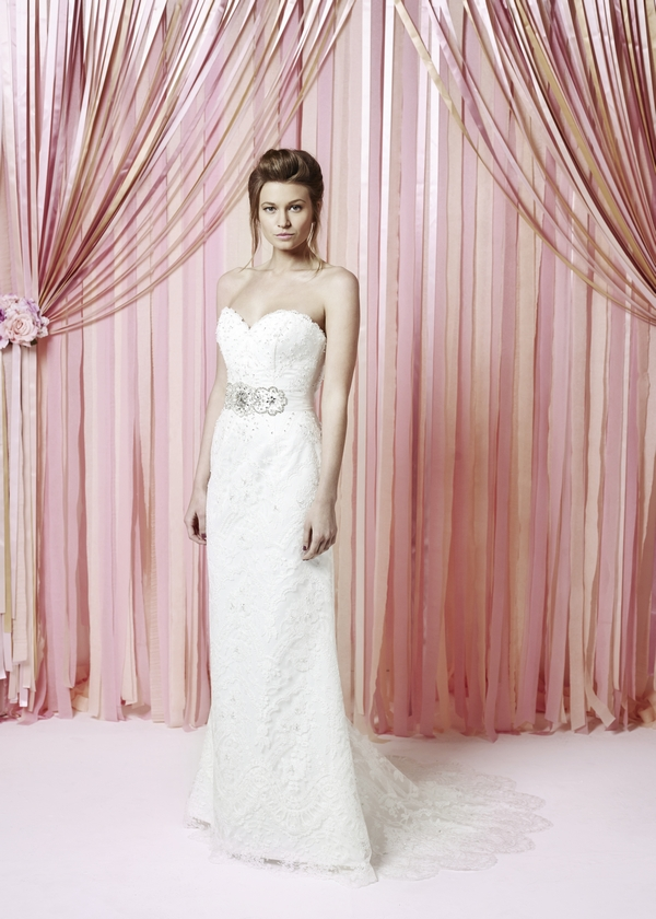 Yolanda Wedding Dress - Charlotte Balbier Iscoyd Park 2015 Bridal Collection