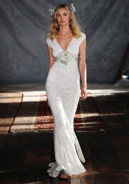 Yolanda Wedding Dress - Claire Pettibone Romantique 2015 Bridal Collection