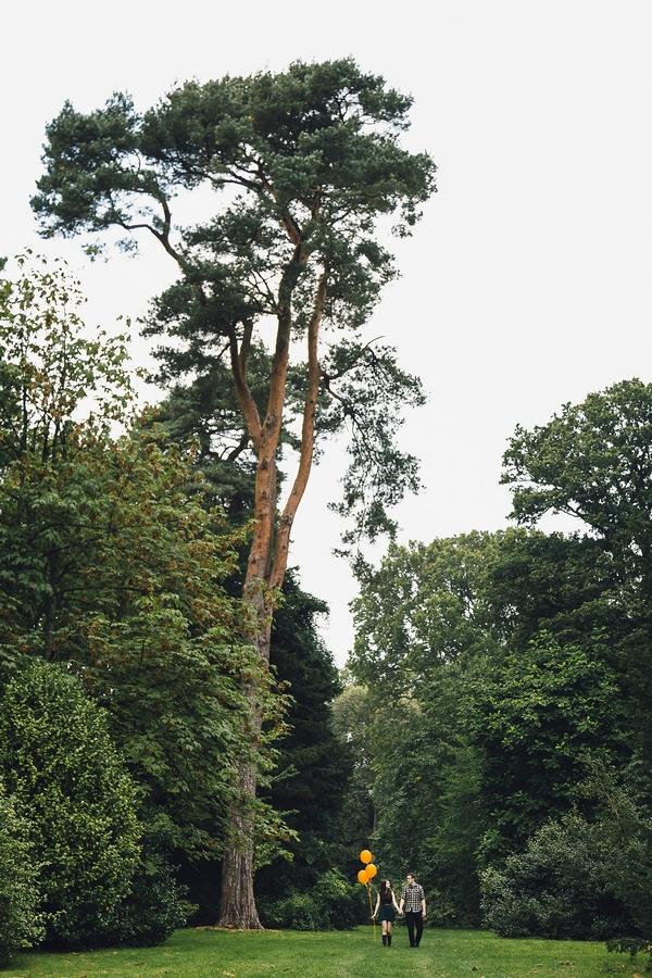 Couple at Westonbirt Arboretum