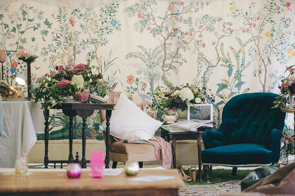 Chairs and vintage props