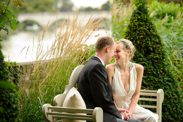 Bride and Groom at the Bingham