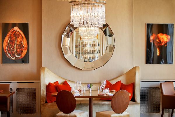 The Bingham Love Seat in The Bingham Restaurant