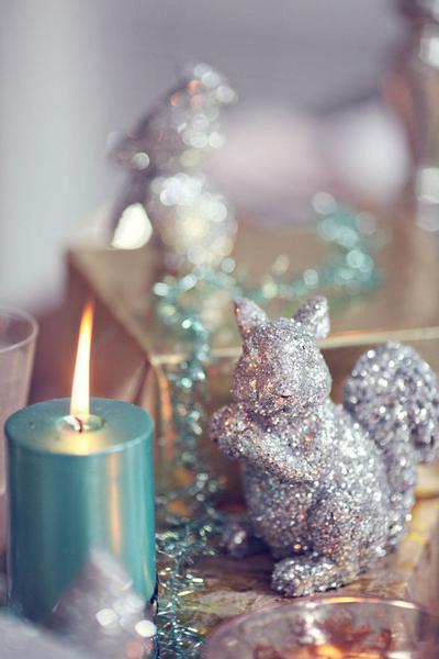 Glittery squirrel