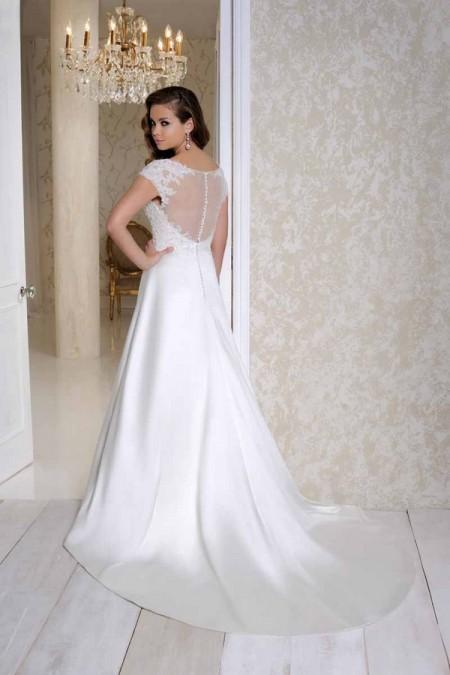 Back of 2501 Wedding Dress - Benjamin Roberts 2015 Bridal Collection