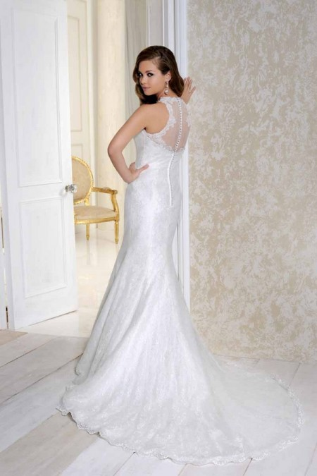 Back of 2502 Wedding Dress - Benjamin Roberts 2015 Bridal Collection