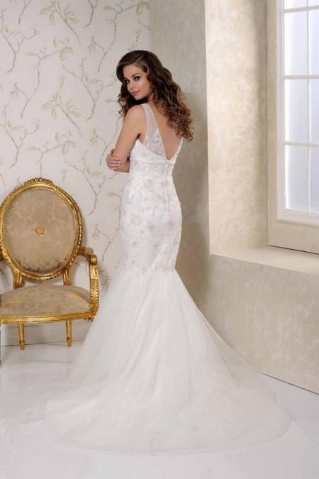 Back of 2503 Wedding Dress - Benjamin Roberts 2015 Bridal Collection