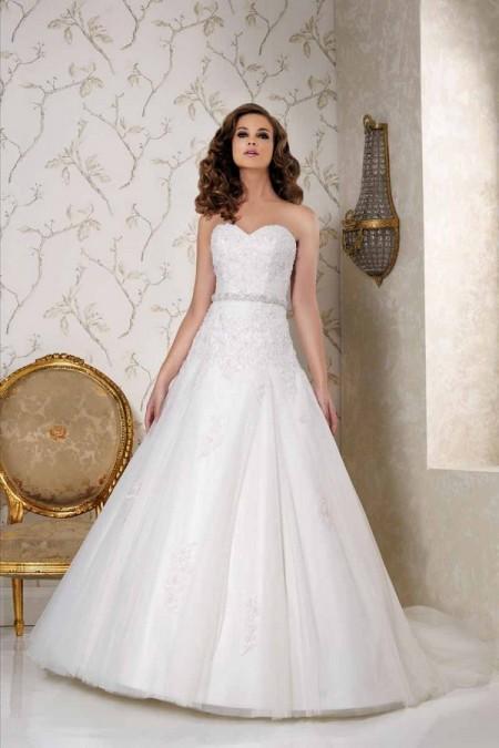 Back of 2504 Wedding Dress - Benjamin Roberts 2015 Bridal Collection