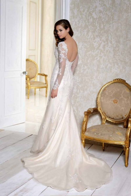 Back of 2505 Wedding Dress - Benjamin Roberts 2015 Bridal Collection