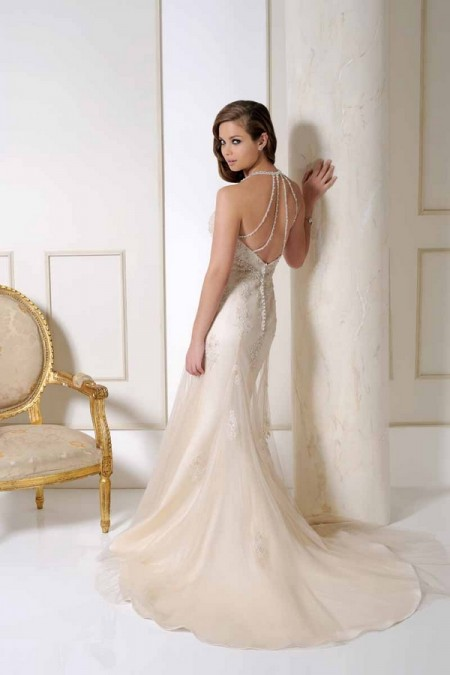 Back of 2506 Wedding Dress - Benjamin Roberts 2015 Bridal Collection