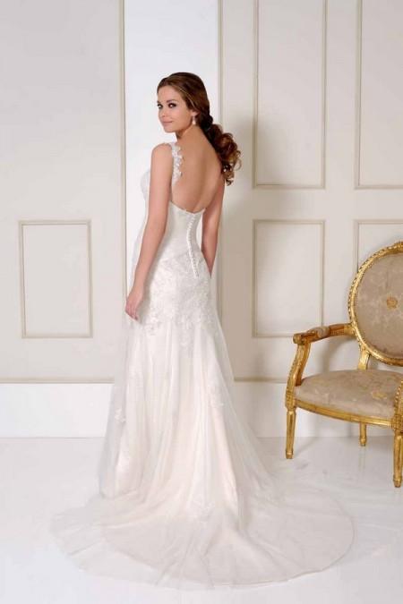Back of 2507 Wedding Dress - Benjamin Roberts 2015 Bridal Collection