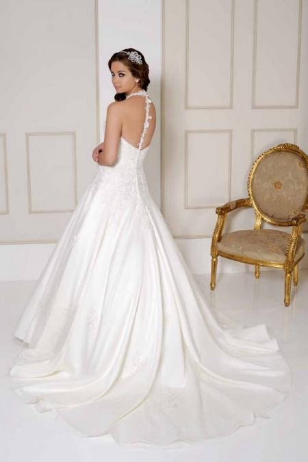 Back of 2508 Wedding Dress - Benjamin Roberts 2015 Bridal Collection