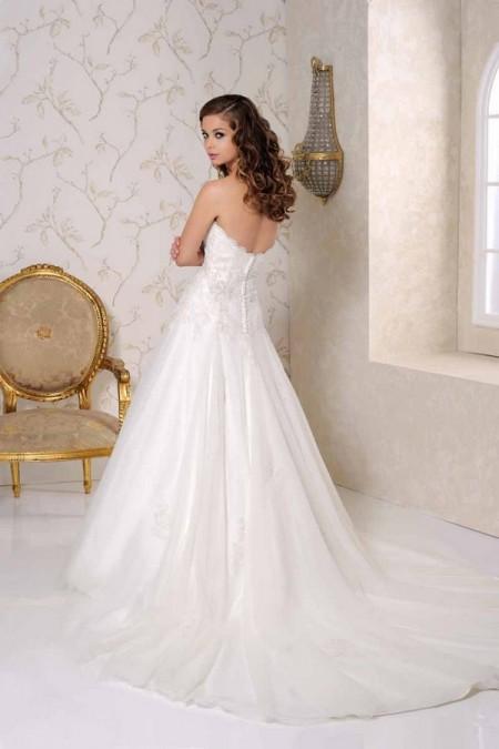 Back of 2509 Wedding Dress - Benjamin Roberts 2015 Bridal Collection