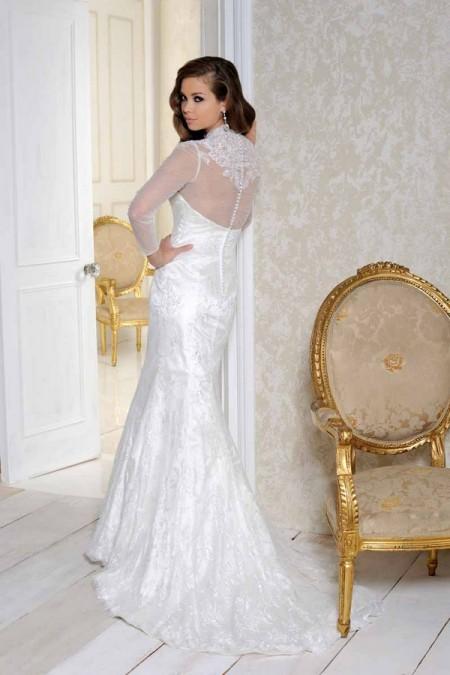 Back of 2510 Wedding Dress - Benjamin Roberts 2015 Bridal Collection