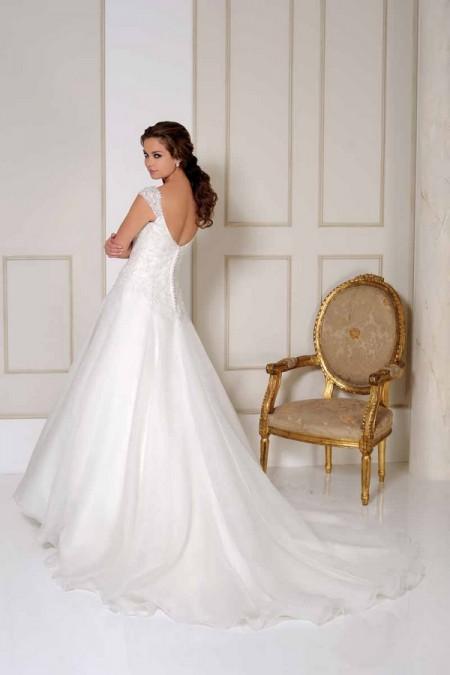 Back of 2511 Wedding Dress - Benjamin Roberts 2015 Bridal Collection